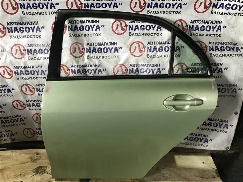 Дверь Toyota Corolla Axio NZE141 задняя левая COLOR 6U6