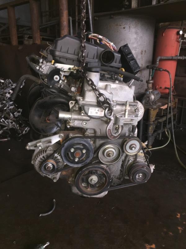 Двигатель Toyota Passo QNC10 K3-VE 1391377