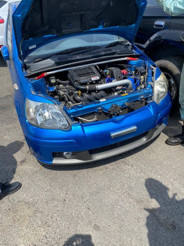 Двигатель Toyota Vitz NCP13 1NZ-FET 2606443