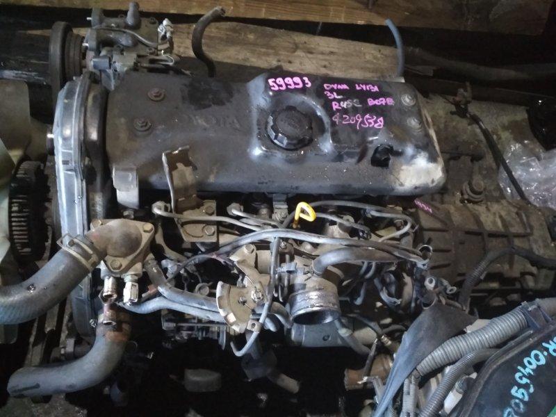 Двигатель Toyota Dyna LY131 3L 4209538