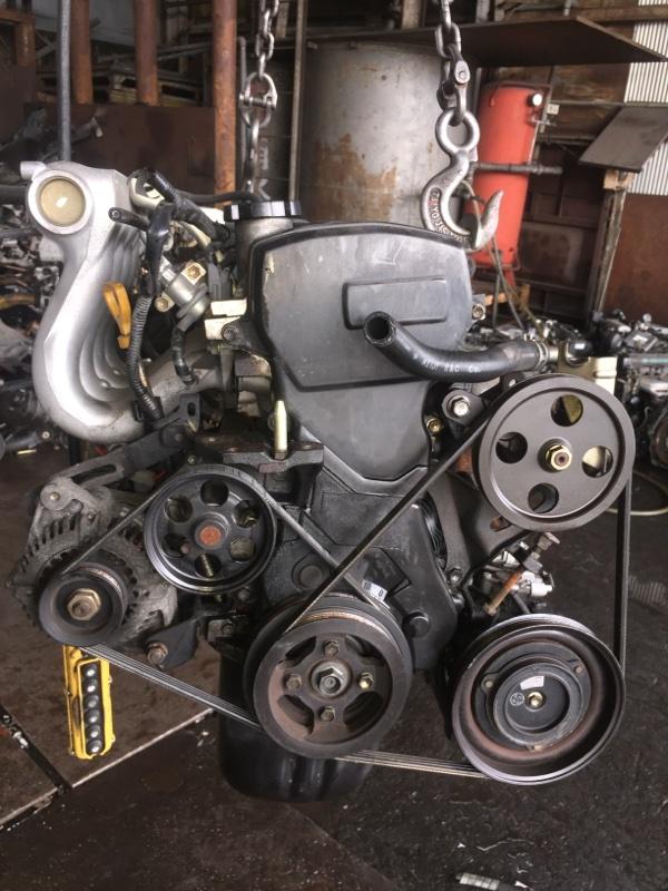 Двигатель Toyota Corsa EL51 4E-FE 1276685