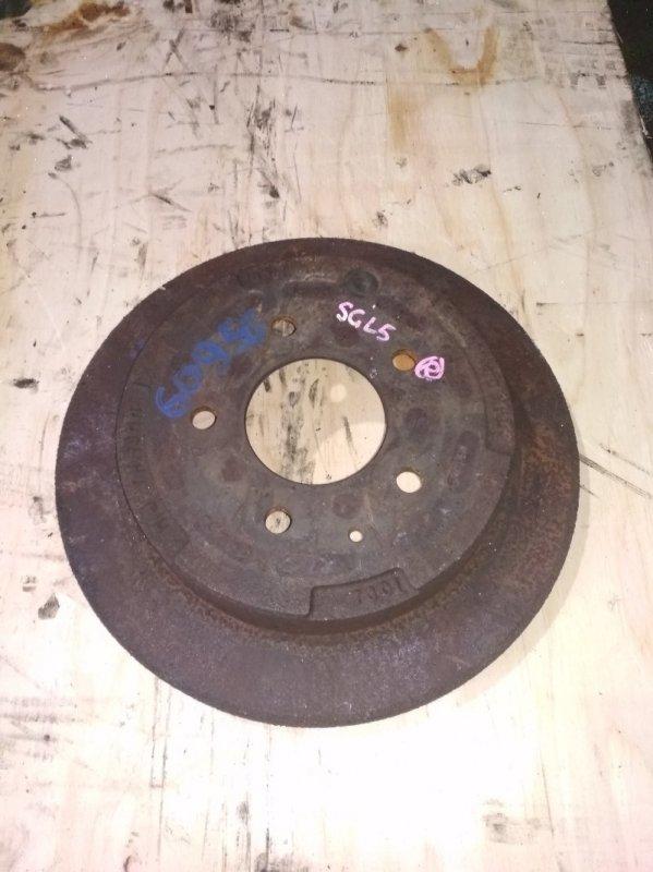 Тормозной диск Mazda Bongo Friendee SGL5 WL-T задний левый