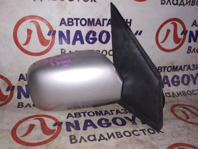 Зеркало Daihatsu Yrv M201G переднее правое 5 KOHTAKTOB