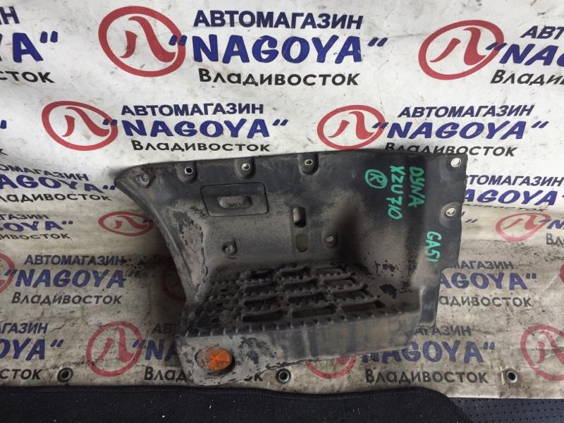 Подножка Toyota Dyna XZU710 передняя правая