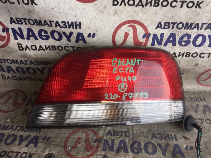 Стоп-сигнал Mitsubishi Galant EC1A задний правый 220-87199