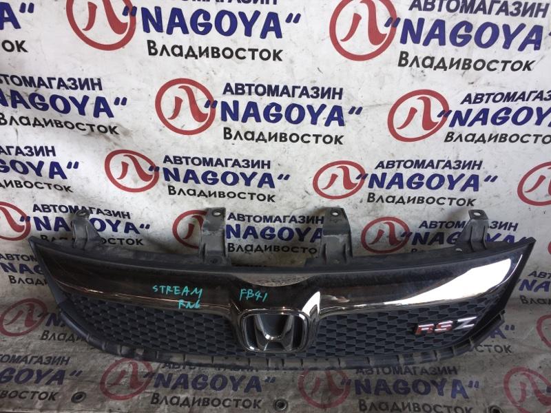 Решетка Honda Stream RN6 передняя 1 MODEL