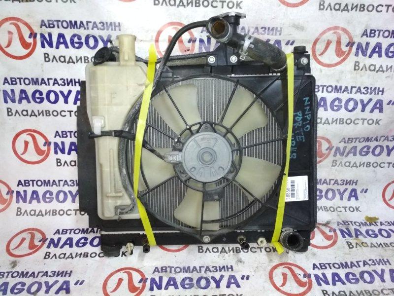 Радиатор основной Toyota Porte NNP10 2NZ-FE A/T