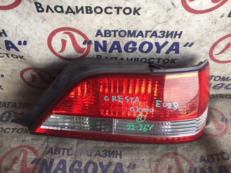 Стоп-сигнал Toyota Cresta GX100 задний правый 22261
