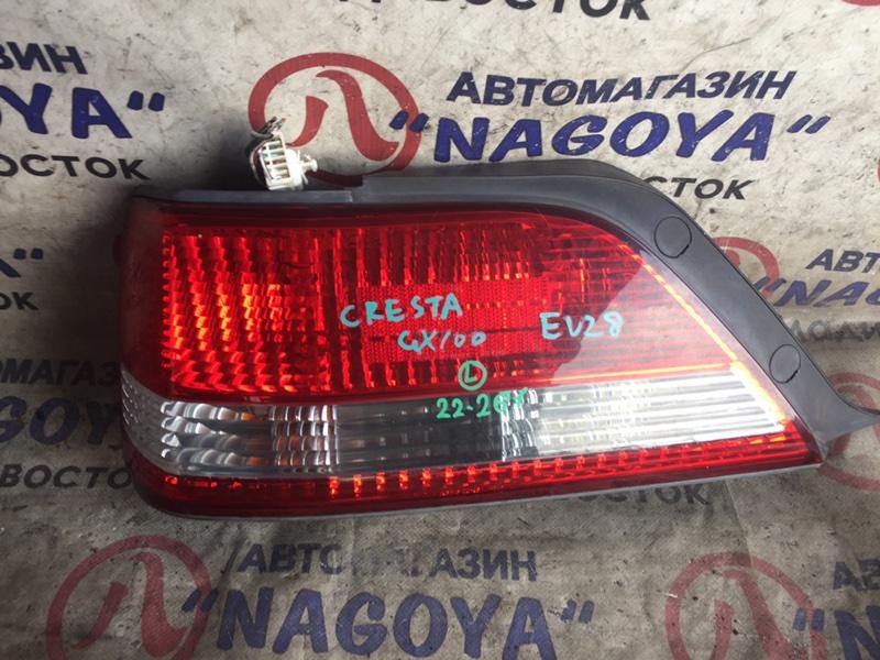 Стоп-сигнал Toyota Cresta GX100 задний левый 22261
