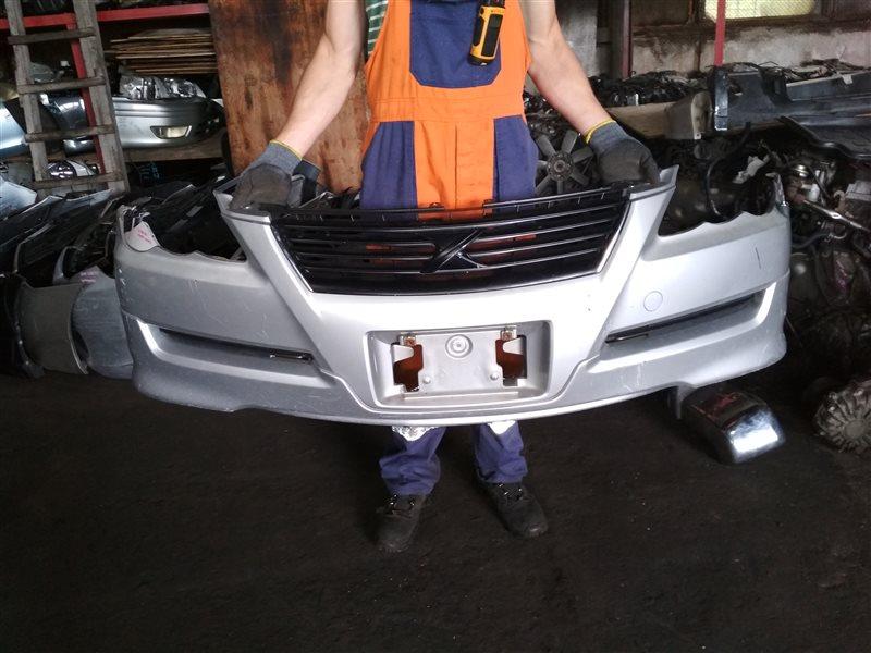Бампер Toyota Mark X GRX120 передний 1 MODEL