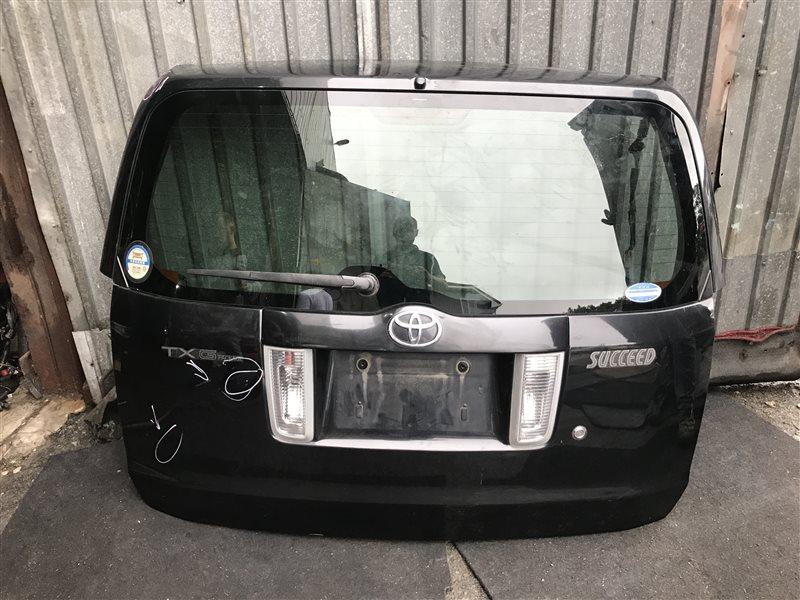 Дверь 5-я Toyota Succeed NCP58 задняя