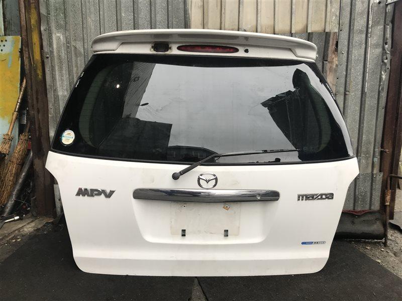 Дверь 5-я Mazda Mpv LWEW задняя