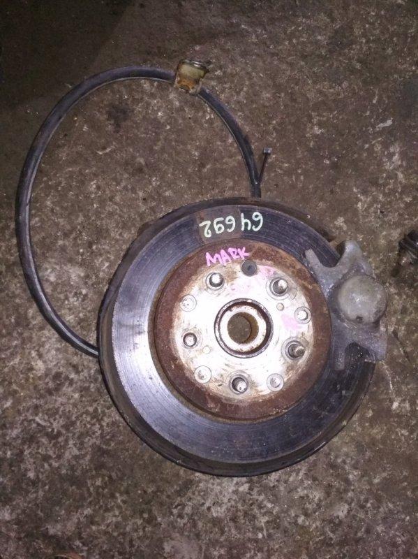 Ступица Toyota Markii JZX110 задняя правая ABS