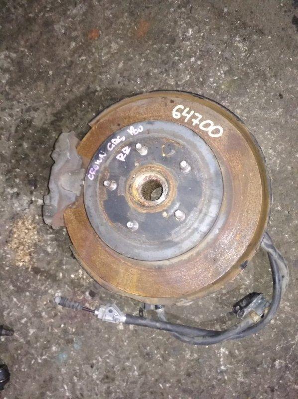 Ступица Toyota Crown GRS182 задняя правая ABS