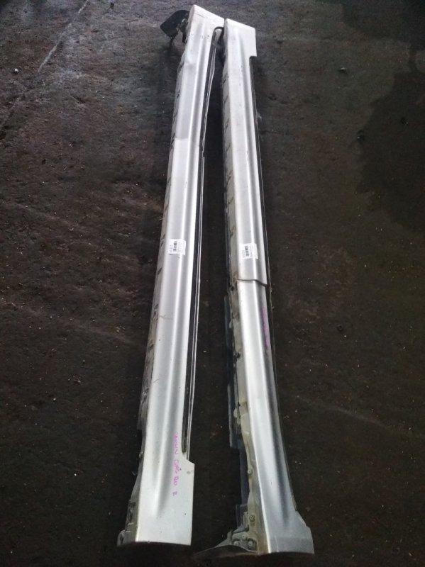 Порог Toyota Crown Athlete GRS180 левый