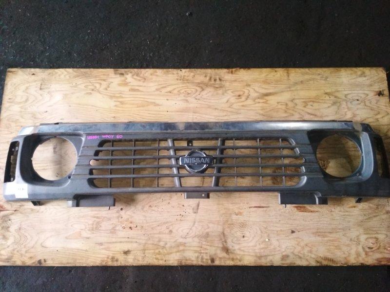 Решетка Nissan Safari WRGY60 передняя