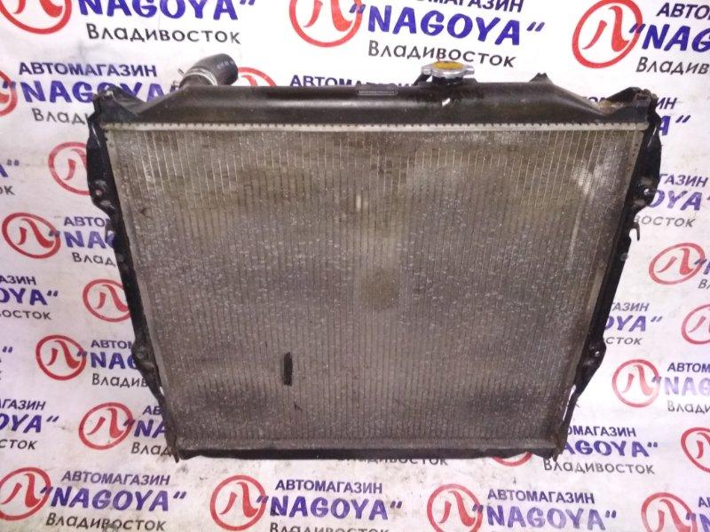 Радиатор основной Toyota Hilux Surf VZN185 5VZ-FE A/T