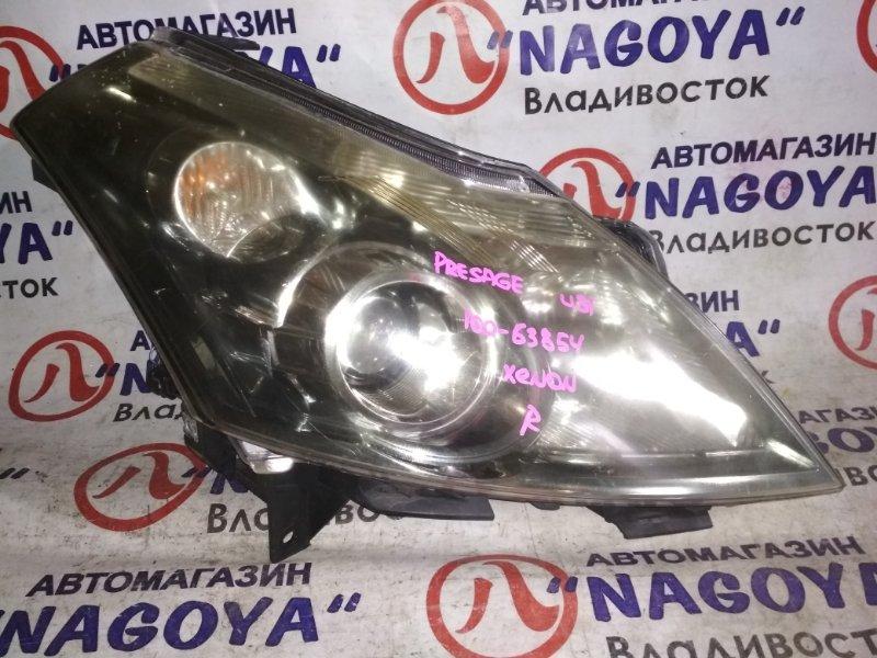 Фара Nissan Presage TU31 передняя правая 100-63854