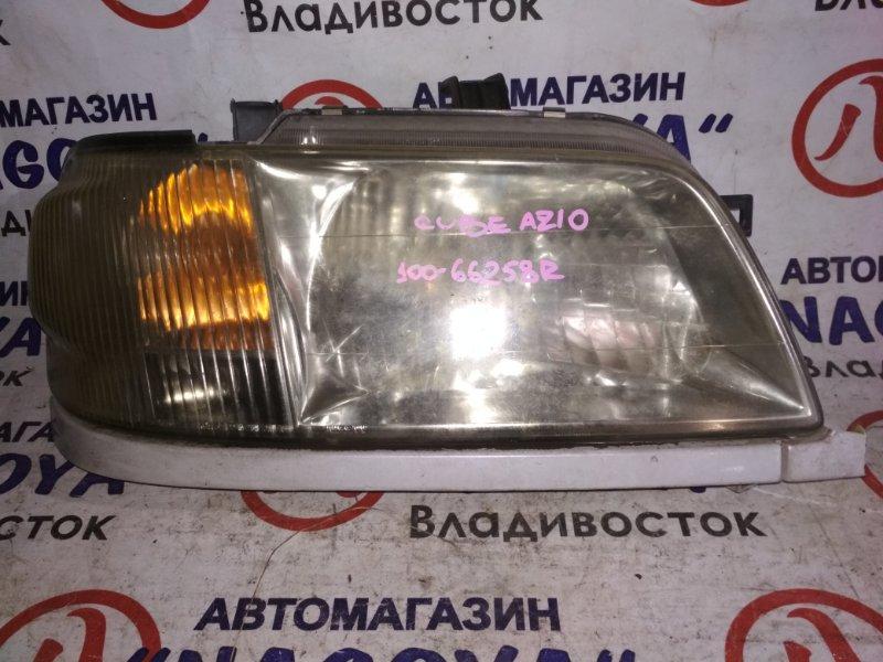 Фара Nissan Cube AZ10 передняя правая 100-66258