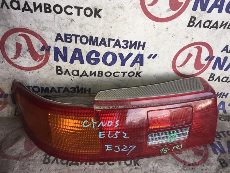 Стоп-сигнал Toyota Cynos EL52 задний левый 16143