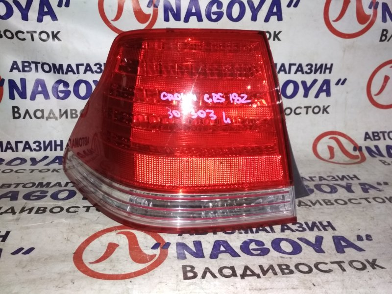 Стоп-сигнал Toyota Crown GRS180 задний левый 30303