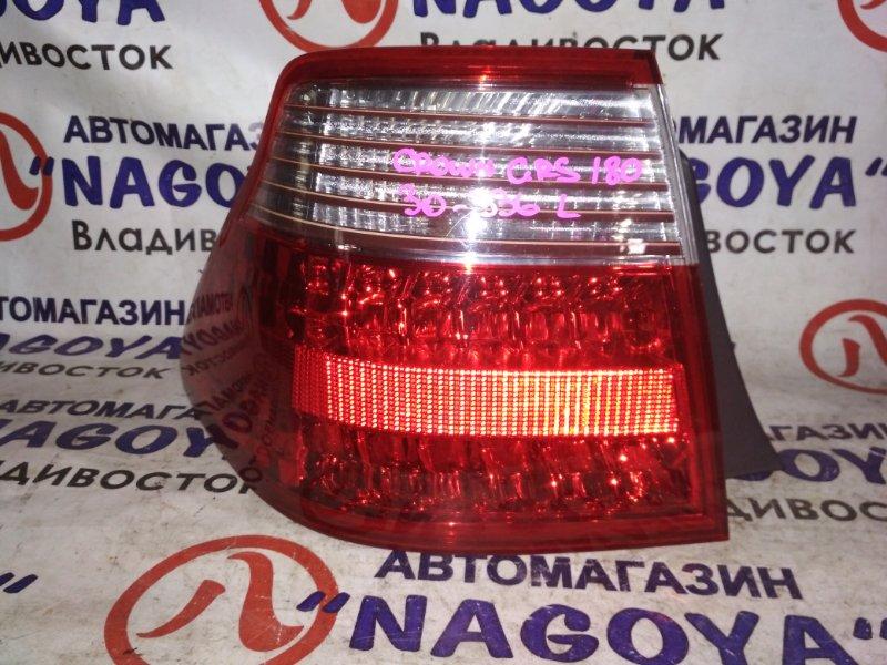 Стоп-сигнал Toyota Crown GRS180 задний левый 30336