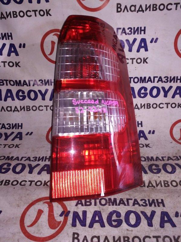 Стоп-сигнал Toyota Succeed NCP59 задний правый 52224