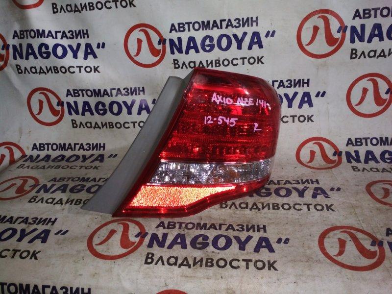 Стоп-сигнал Toyota Corolla Axio NZE141 задний правый 12545
