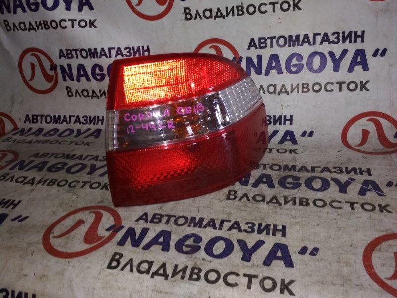 Стоп-сигнал Toyota Corolla CE113 задний правый 12442