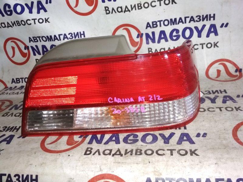 Стоп-сигнал Toyota Carina AT212 задний правый 20385