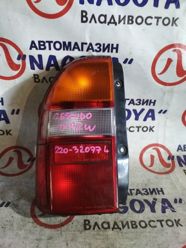 Стоп-сигнал Suzuki Grand Escudo TX92W задний левый 220-32077