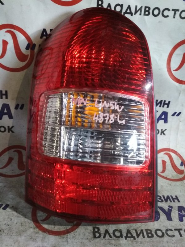 Стоп-сигнал Mazda Mpv LW5W задний левый 4878