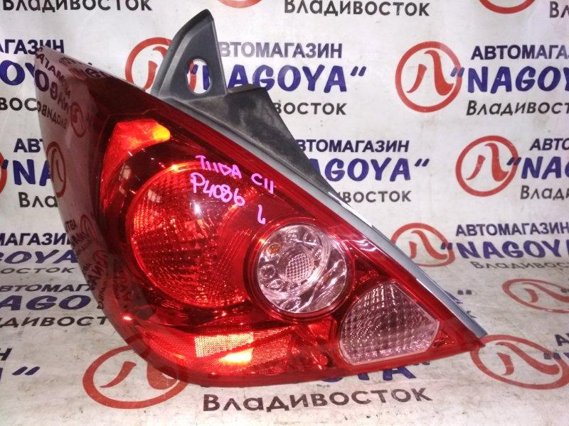 Стоп-сигнал Nissan Tiida C11 задний левый P4086