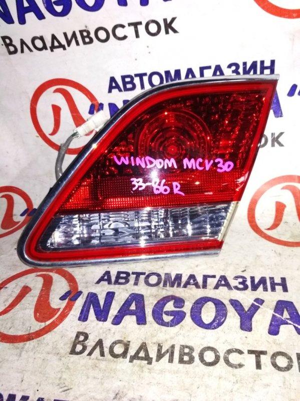 Стоп-вставка Toyota Windom MCV30 задняя правая 3386