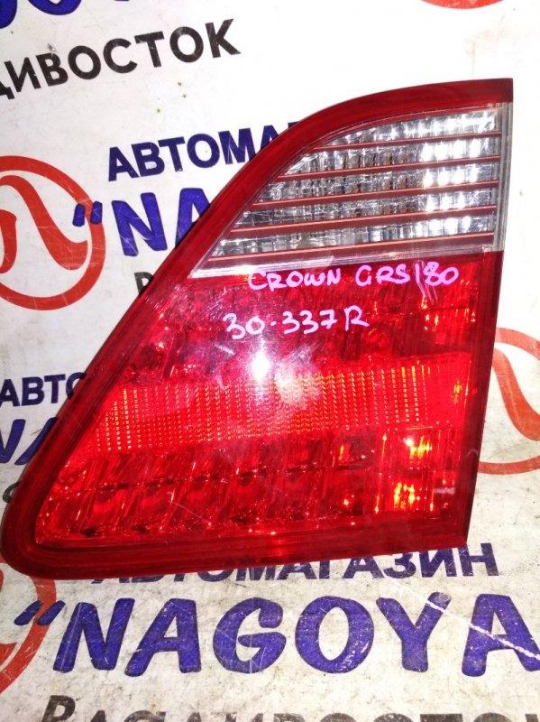 Стоп-вставка Toyota Crown GRS180 задняя правая 30337
