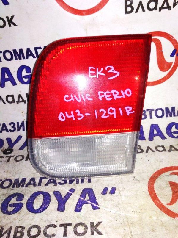 Стоп-вставка Honda Civic Ferio EK3 задняя правая 043-1291