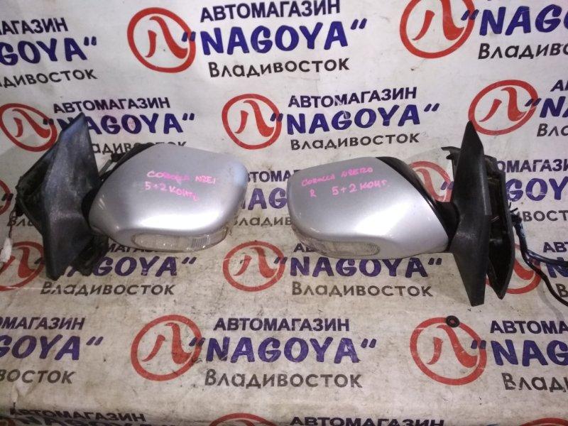 Зеркало Toyota Corolla NZE120 переднее правое 5 + 2 KOHTAKTA
