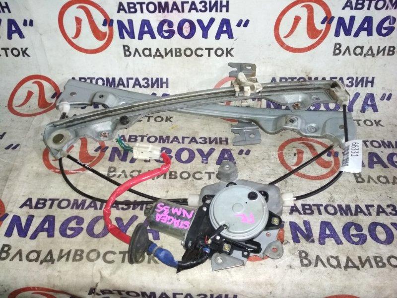 Стеклоподъемник Nissan Stagea NM35 передний правый