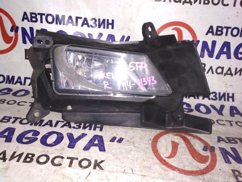 Туманка Mazda Axela BL5FP передняя правая 114-41343