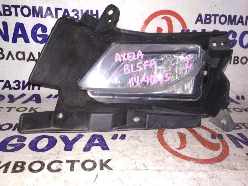 Туманка Mazda Axela BL5FP передняя левая 114-41343