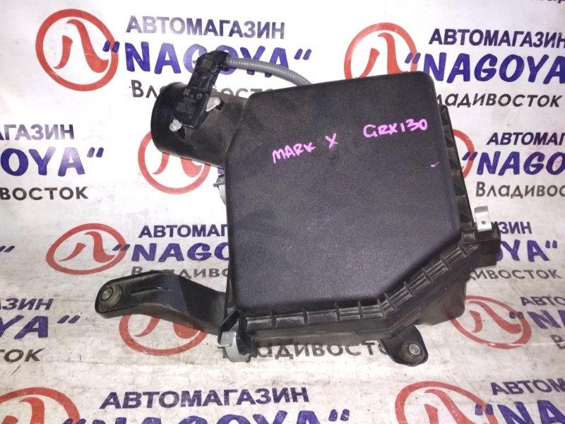 Корпус воздушного фильтра Toyota Mark X GRX130 4GR-FSE 22204-37010