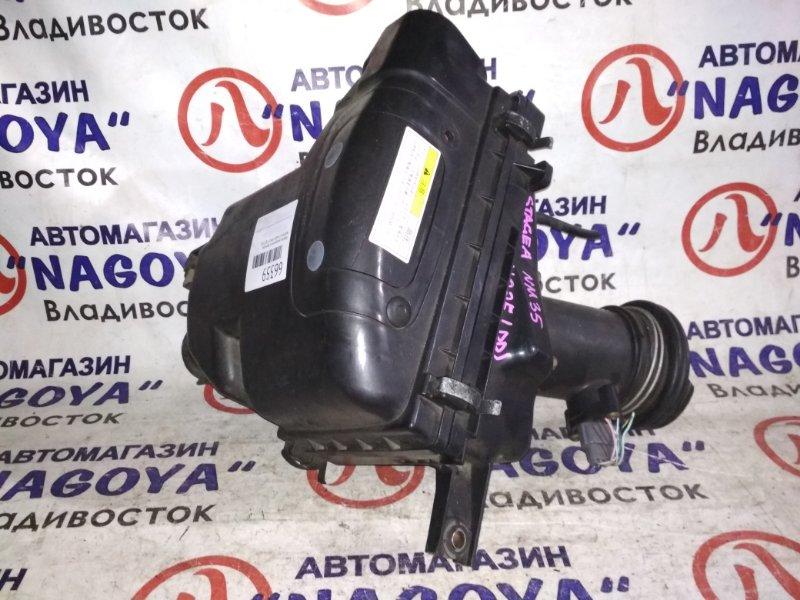 Корпус воздушного фильтра Nissan Stagea NM35 VQ25DD 22680 6N201