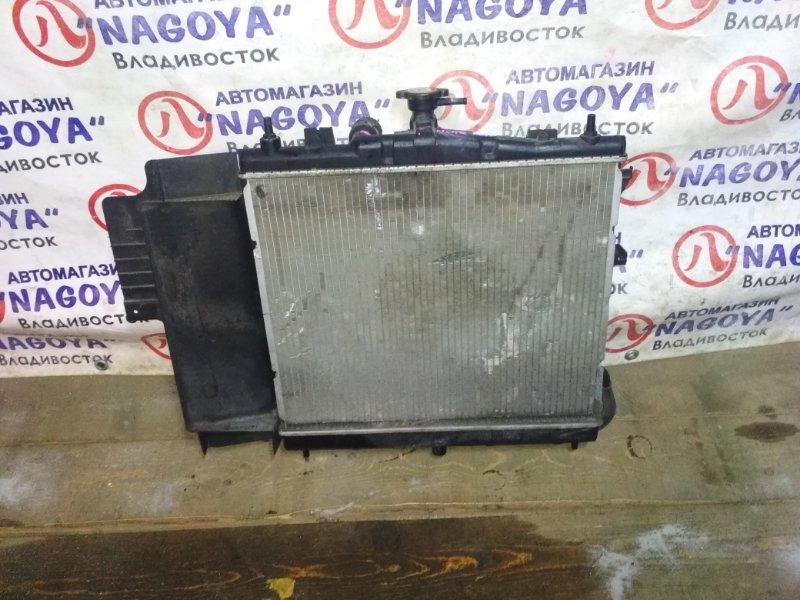 Радиатор основной Nissan Note E11 HR15DE A/T