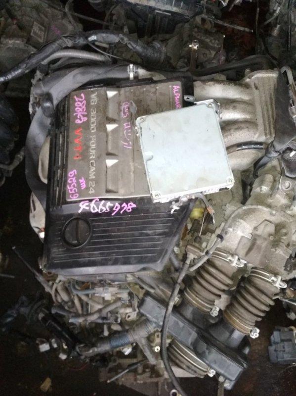 Двигатель Toyota Alphard MNH10 1MZ-FE 4665978