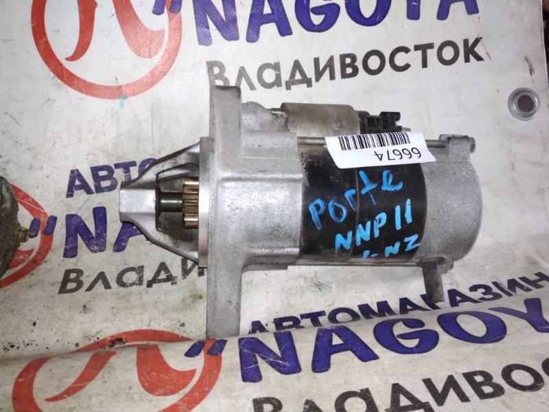 Стартер Toyota Porte NNP11 1NZ-FE