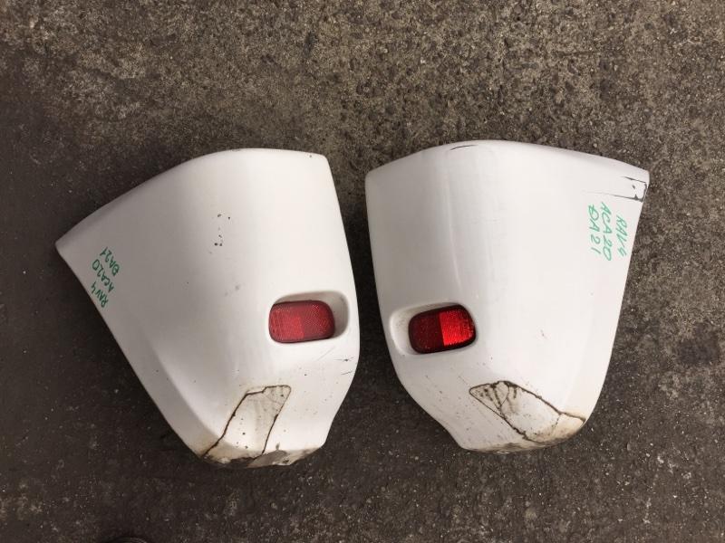Бампер Toyota Rav4 ACA20 задний левый COLOR 064