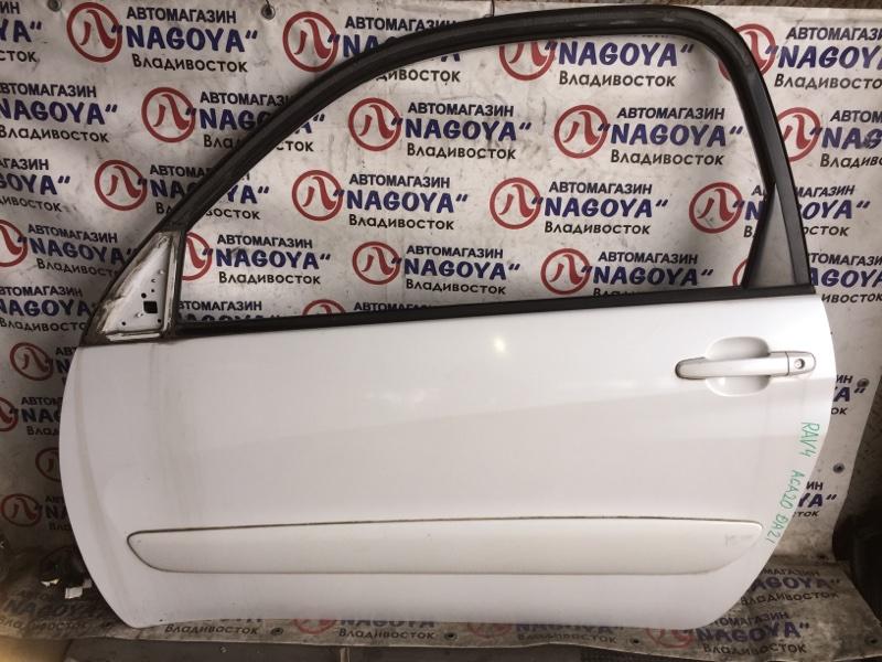 Дверь Toyota Rav4 ACA20 передняя левая COLOR 064