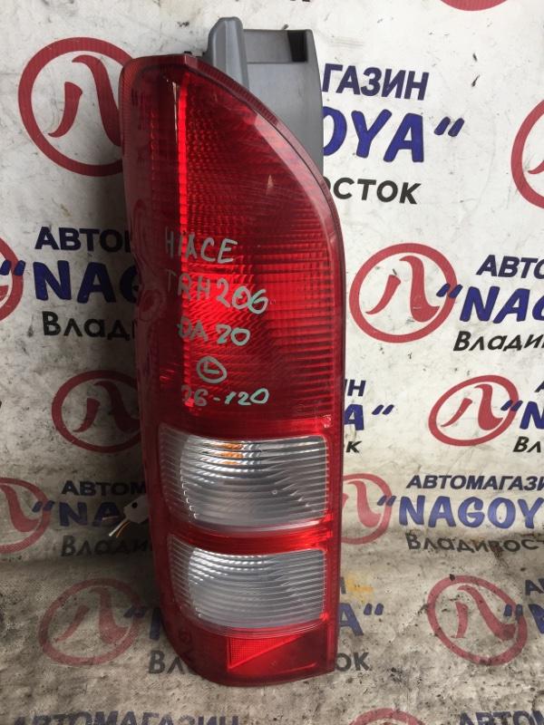 Стоп-сигнал Toyota Hiace TRH200 задний левый 26120