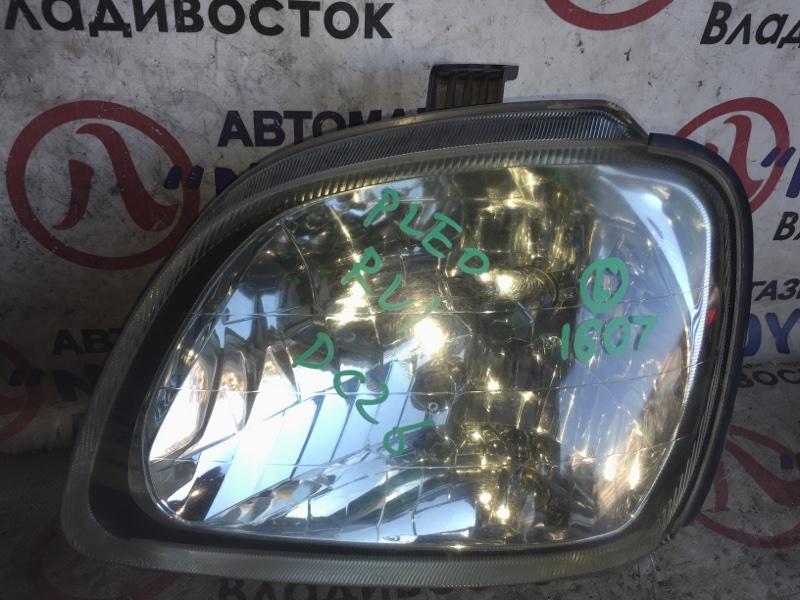 Фара Subaru Pleo RV1 передняя левая 1607