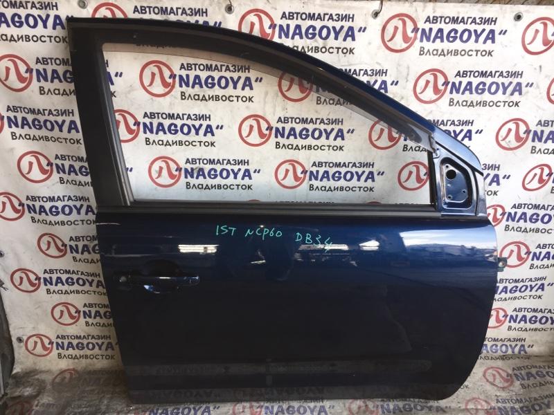 Дверь Toyota Ist NCP60 передняя правая COLOR 8P4